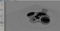 3d model drone modelled