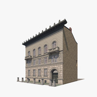 3d model building city berlin luetzowplatz
