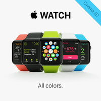 3ds apple watch sport colors