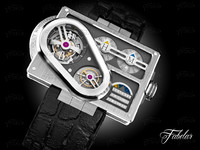 3d harry winston tourbillon 3 model