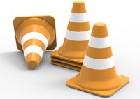 traffic cone 3ds
