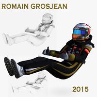 Romain Grosjean 2015