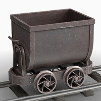 3d model cart