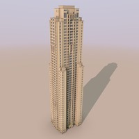 3d model of jumeirah beach residence murjan