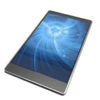 modern neutral smartphone phone 3d model
