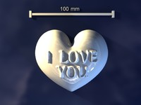 love mold hand 3d max