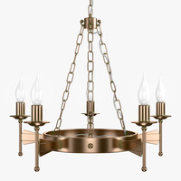 cromwell 5lt chandelier old 3ds