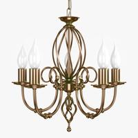 3ds artisan 5lt chandelier aged
