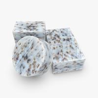 3d model organic soap 4