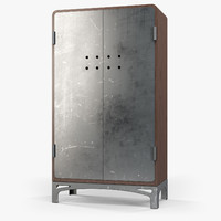 wardrobe industriart art 3d model