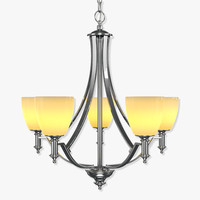 3d model chandelier hinkley truman 4025an