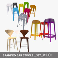 max branded bar stools set