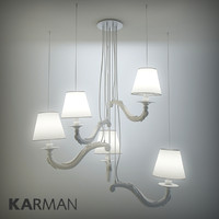 karman deja-vu lamp 3d model