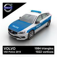3d v60 2015 police model