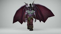 wow illidan max
