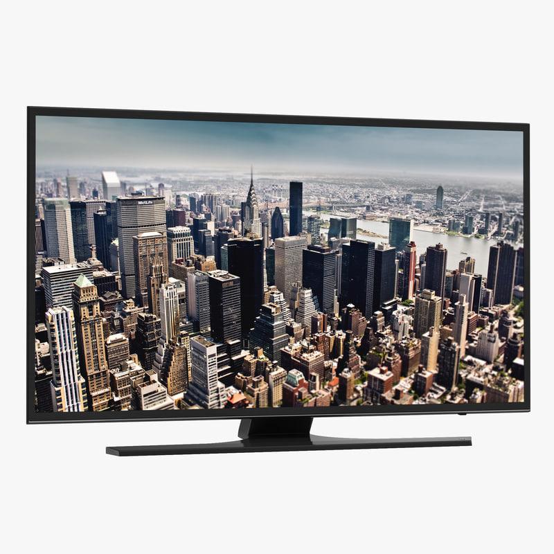 3d model of Generic TV 00.jpg
