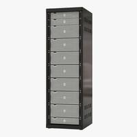 dell servers rack 3d max
