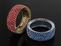 ring pave 3ds