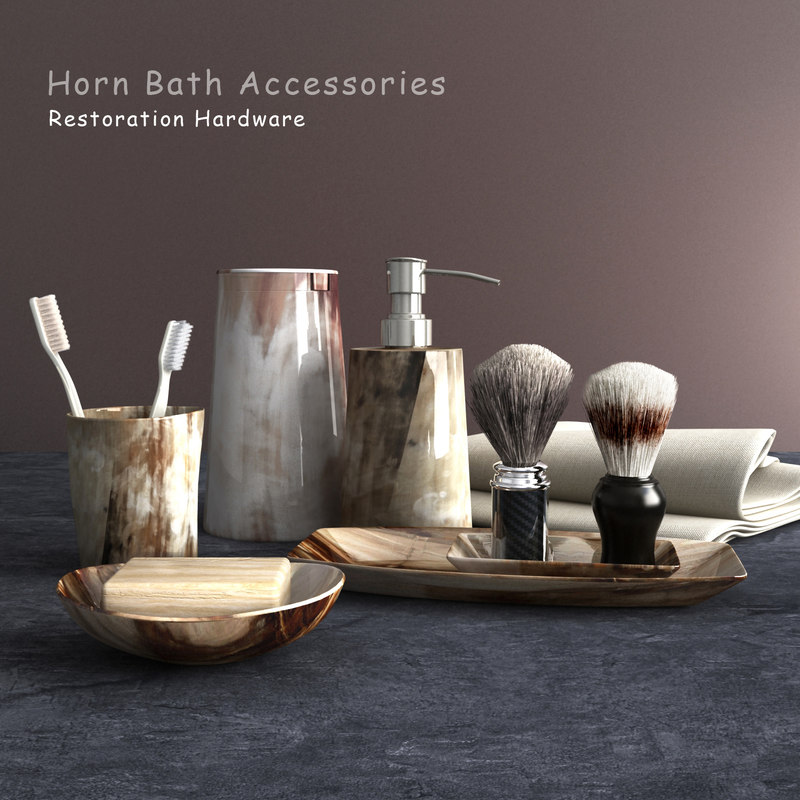 3d bathroom accessories for 3d bathroom accessories