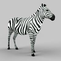 obj zebra