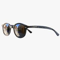 horn armani sunglasses 3d obj