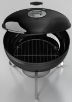 smokey joe grill 3d max