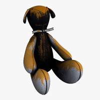 3d bear leaks 1 color model