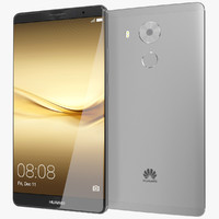 realistic huawei mate 8 3ds