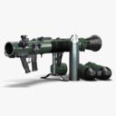 projectile weapons 3D models