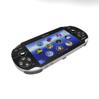 3d model sony playstation vita