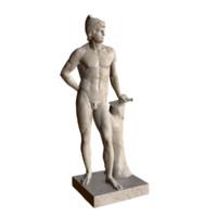 statue mars 3d max