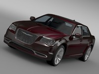 3d chrysler 300 limited lx2 model