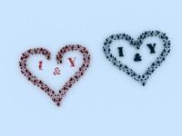 heart 3d max