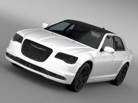 3d model chrysler 300s awd lx2