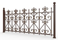forged fence metal max