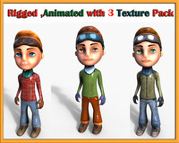 cartoon character boy max