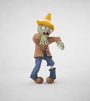 3d zombie