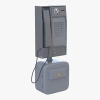 3d pay phone