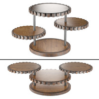 sprockets end table 3d max