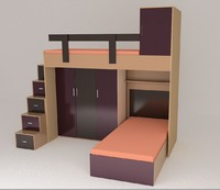 bedroom 3d 3ds
