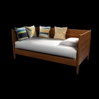 daybed mid-century west elm obj