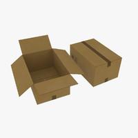 e2 box 3d model