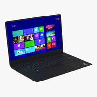 3d generic laptop 6