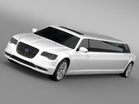 3ds max lancia thema limousine 2016