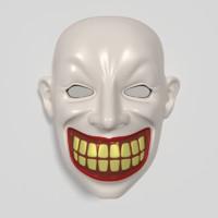 mask 3d 3ds