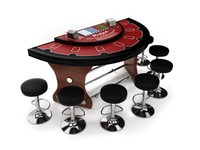 Blackjack Table Set