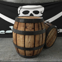 maya pirate barrel