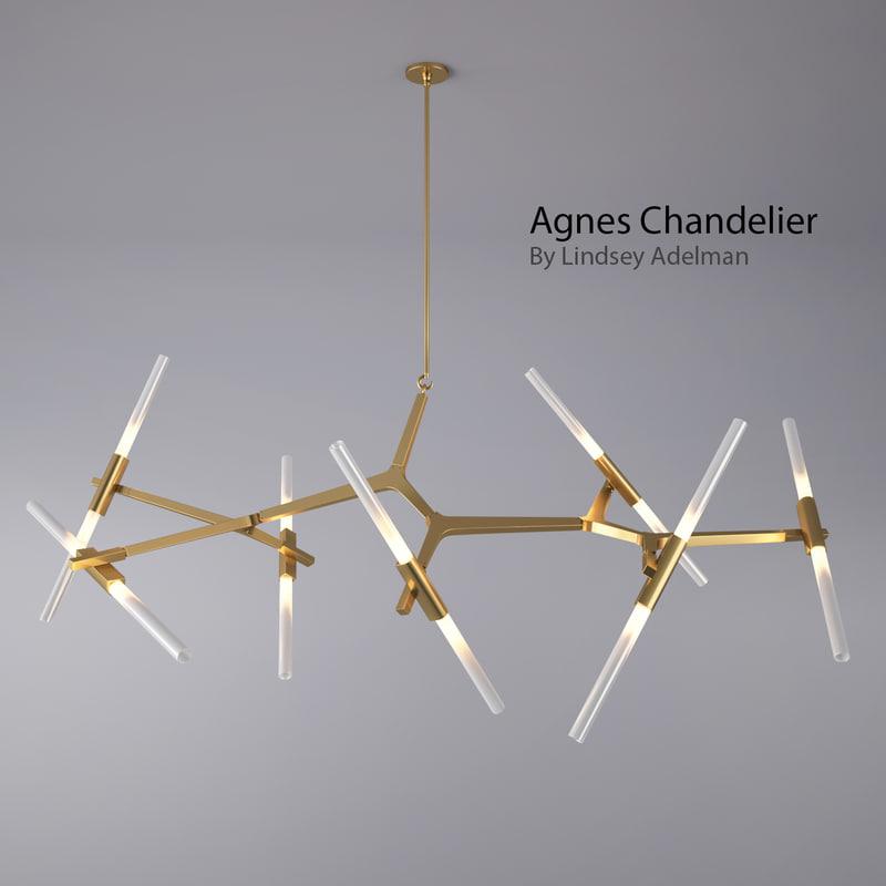 Roll & Hill - Agnes Chandelier - 14 Bulbs By Lindsey Adelman 1.jpg