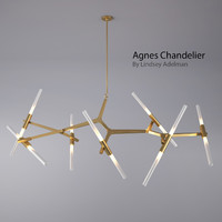 Agnes Chandelier - 14 Bulbs By Lindsey Adelman