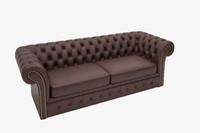 chester sofa 3d model